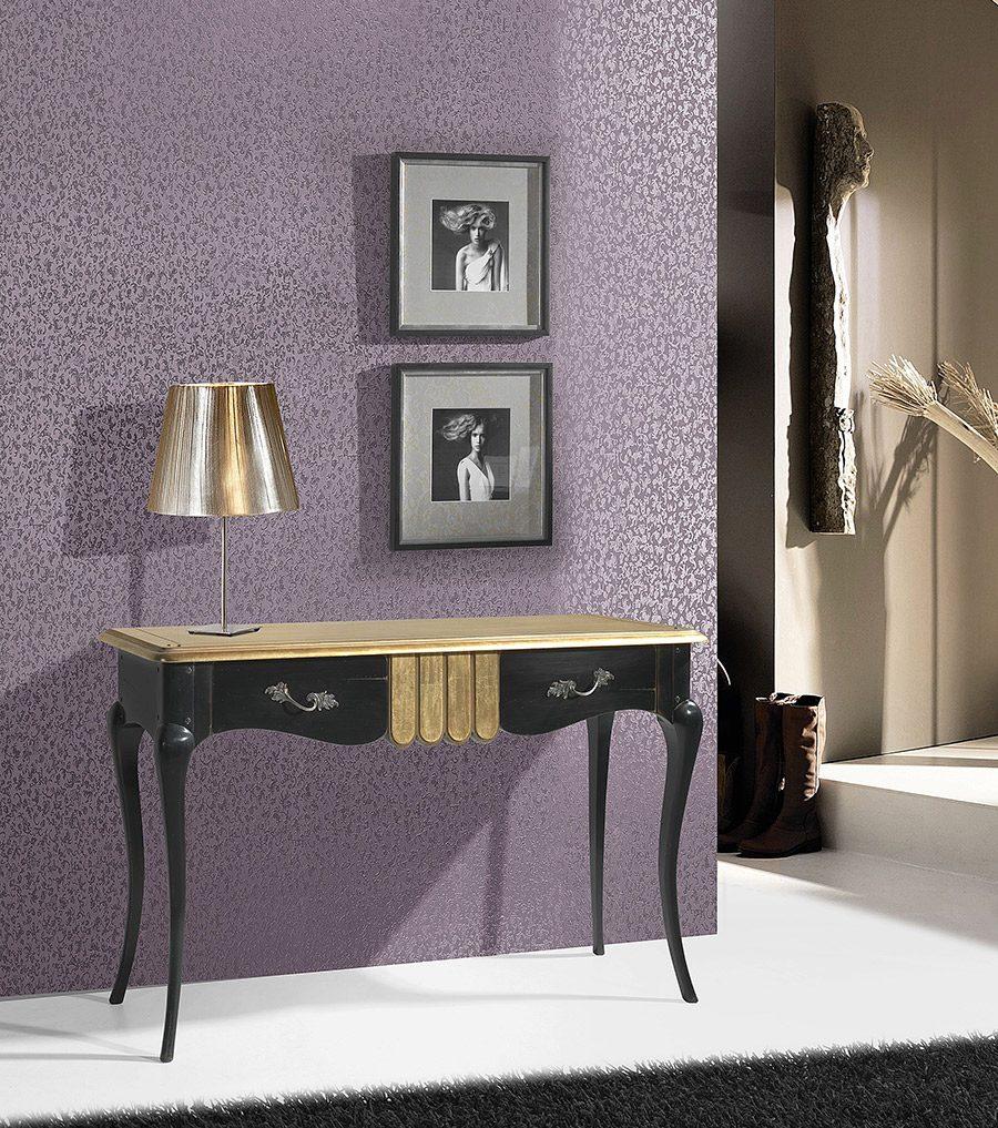 Mueble auxiliar cl sico cau052 muebles lara - Mueble clasico valencia ...