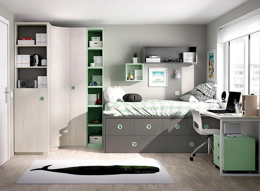 Dormitorio juvenil jdm022 muebles lara - Muebles dormitorio juvenil ...