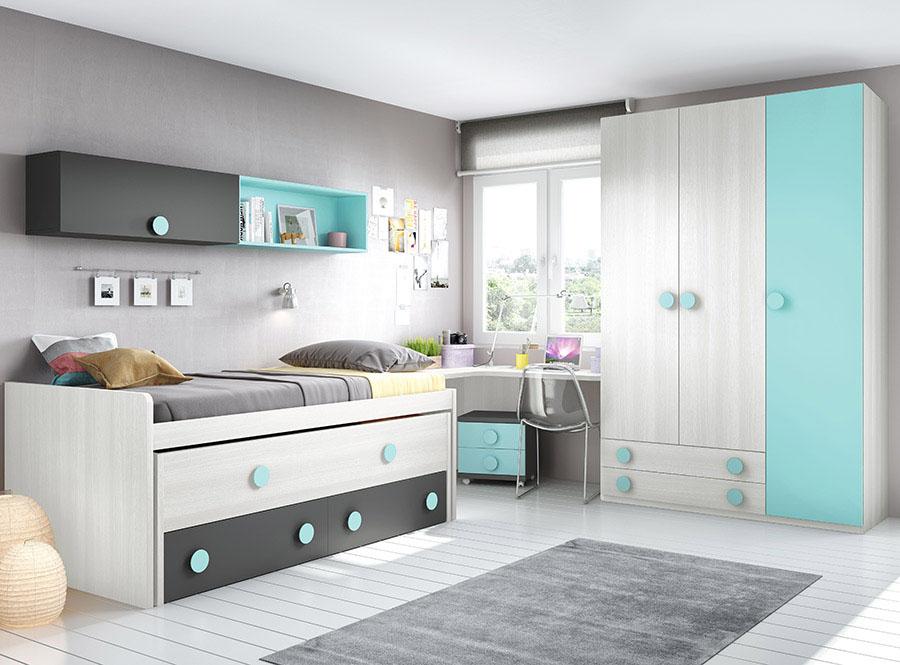 Dormitorios juveniles muebles lara - Muebles dormitorio juvenil ...