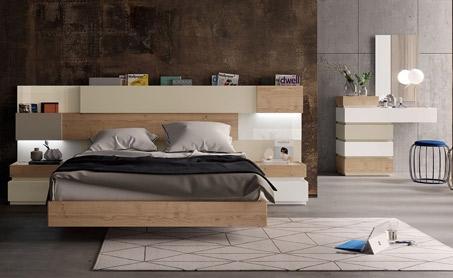 Dormitorios modernos de Muebles Lara